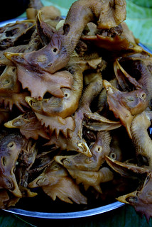 Chicken Heads, Laos | by The Hungry Cyclist