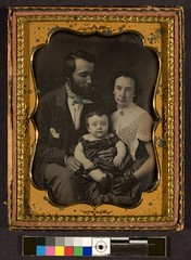 Man, woman and child, seated | by George Eastman Museum