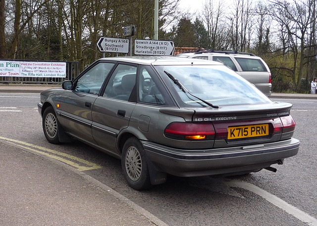 1992 toyota corolla 1 6gl executive 5dr this was oap. Black Bedroom Furniture Sets. Home Design Ideas