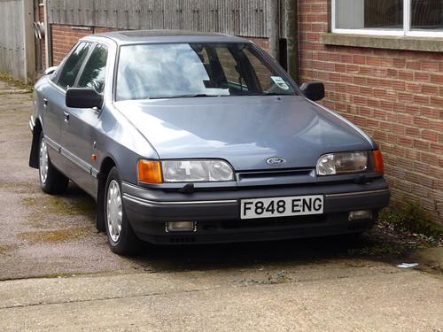 1989 Ford Granada 2 4 Ghia Dvla Says Untaxed Since 2008