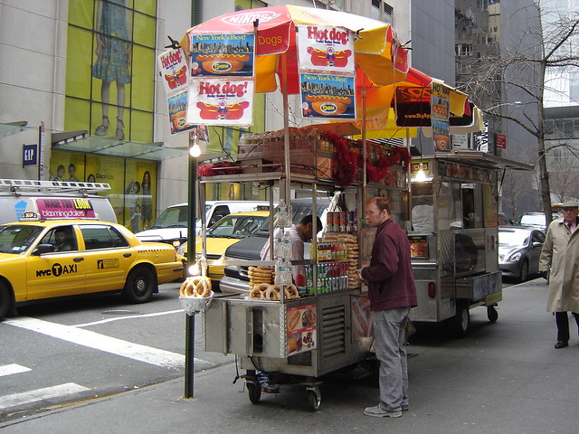 Hot Dog Cart Decals