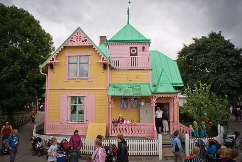 Villa Kunterbunt Pippi Langstrumpf Gotland