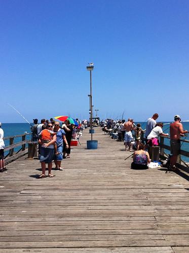 Kure beach fishing pier margaret whitener flickr for Kure beach fishing report