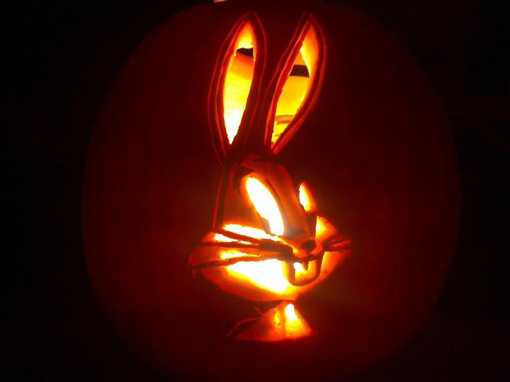 Bugs bunny pumpkin dave flickr