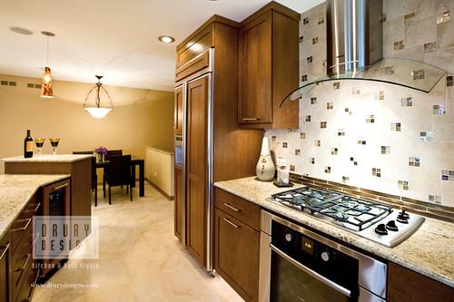 Contemporary kitchen drury design 512 n main street for Gail drury kitchen designs