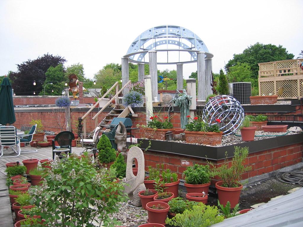 ... Rooftop Garden, Artisan Works | By Heidomerg