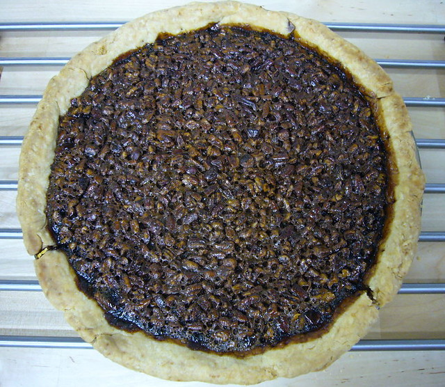 Tipsy Pecan Pie | Bourbon & Blackstrap Molasses make a very ...