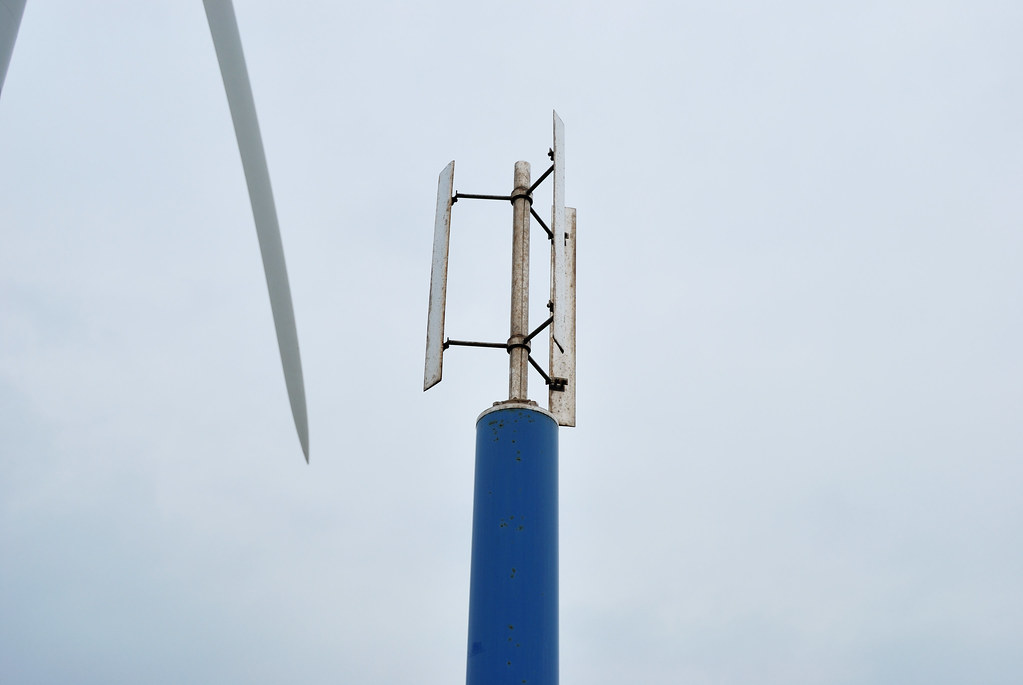 Giromill Type Wind Turbine This Is One Of The Wind