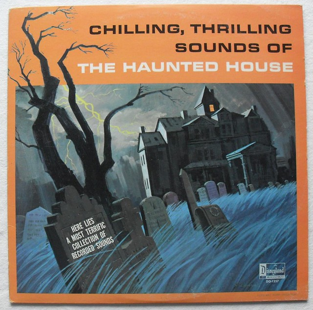 1964 halloween vintage haunted house record album disney s for Classic house record labels