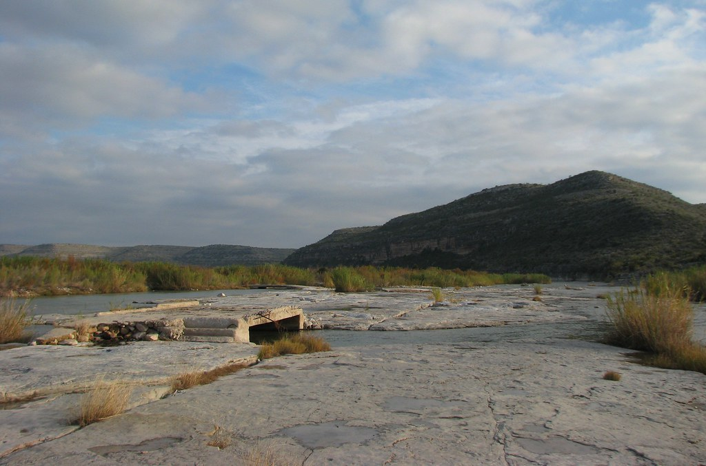 Pandale Crossing On The Pecos River Picture A Day January