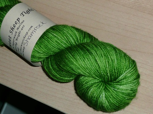Sweet Sheep Tight Twist - Shamrock | by mtlaise