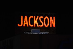 Jackson Chevrolet Neon Sign, Middletown, CT | By 63vwdriver ...