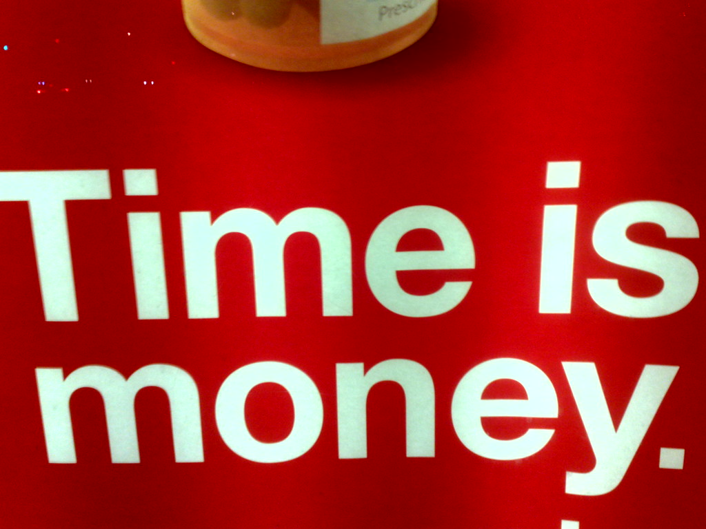 Time Is Money - 0125201017702