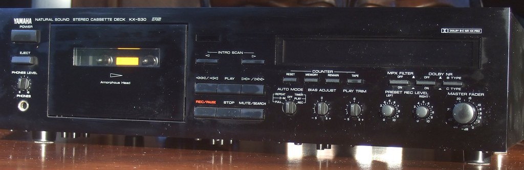 Yamaha KX-530 Cassette Recorder Deck - by Piano Piano!