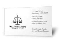 Attorney business cards 1 sample of many business card tem flickr attorney business cards by 123print accmission