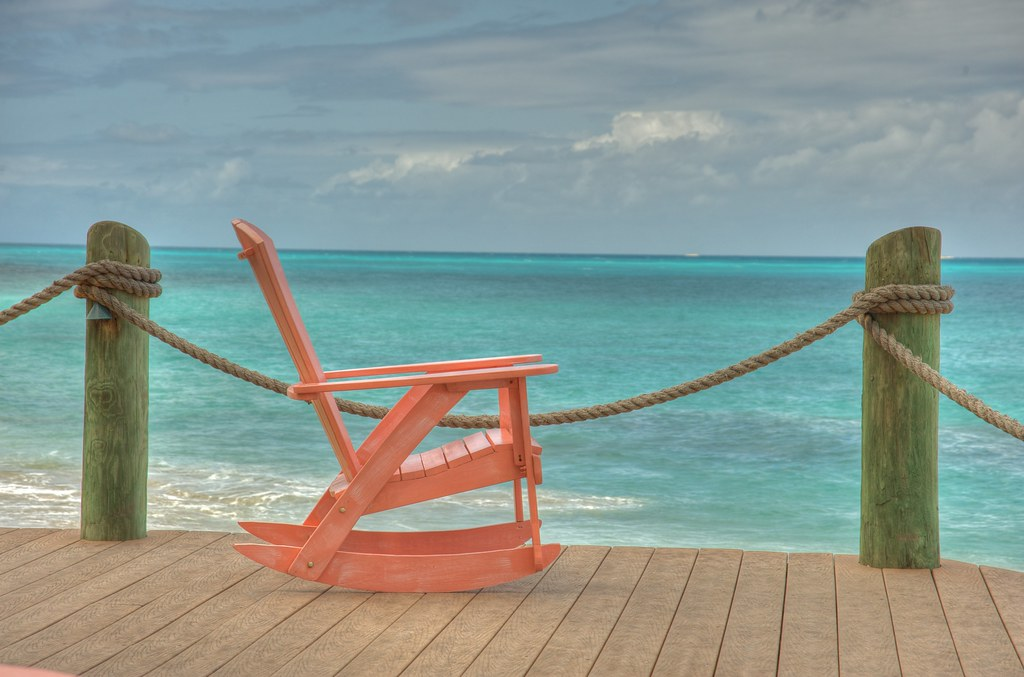 ... Rocking Chair On The Deck   Antigua, Mar 2010 | By Ed Yourdon