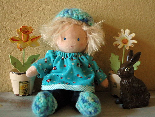 Ben the little waldorf doll | by The Driftwood Thimble