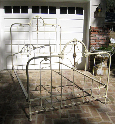 Antique Wrought Iron Bed Frame Michael Seratt Flickr