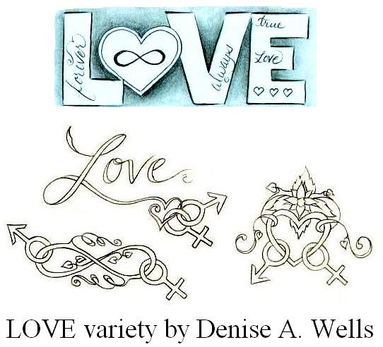 Love Tattoo Variety By Denise A Wells Infinity Symbol Flickr