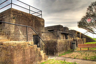 Fort Monroe WWII Battlements HDR 3 | by Serithian