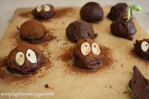 soot sprite truffles | by exquisite course