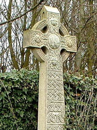 ... Celtic Cross, Trees U0026 Ivy, Muiravonside Cemetery, Scotland | By  Grangeburn