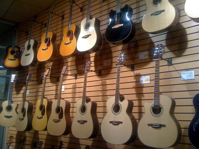 sweetwater store acoustic guitars flickr photo sharing. Black Bedroom Furniture Sets. Home Design Ideas