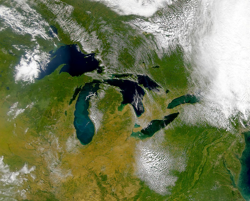 great lakes water pollution Great lakes areas of concern are designated geographic areas within the great lakes basin that show severe environmental degradation water pollution notes.