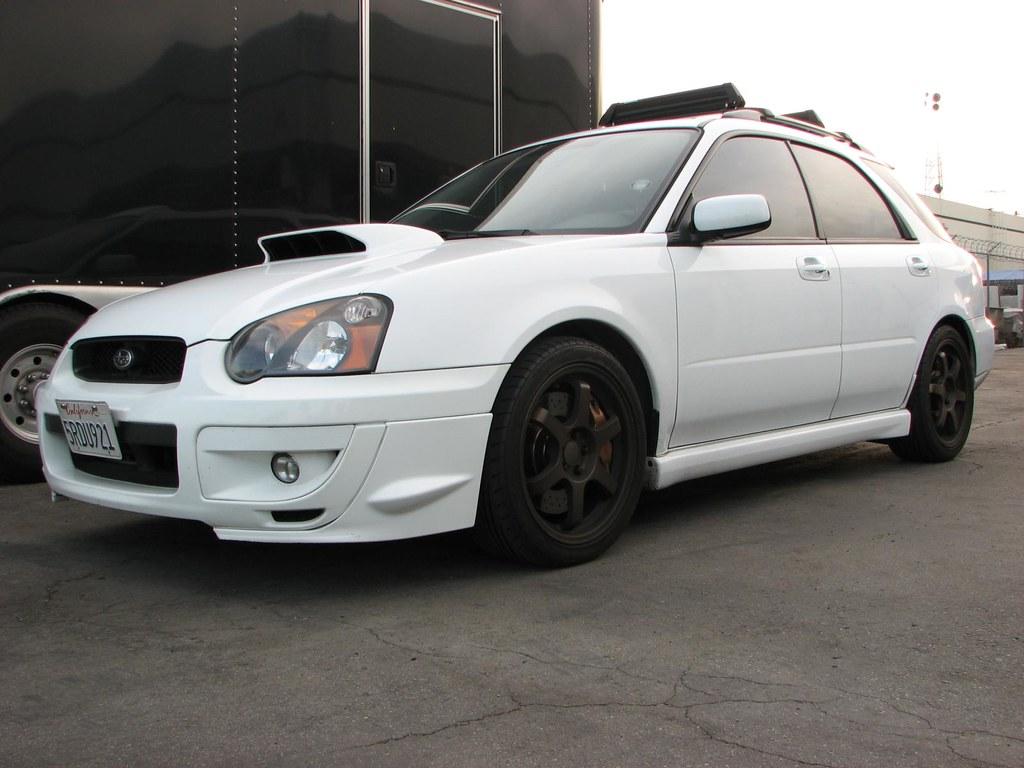 2005 Subaru Wrx Wagon Aspen White Tony Win Flickr