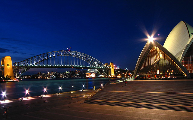 4112526915 d334a9273f z - Download Pictures Of Sydney Opera House And Harbour Bridge  PNG