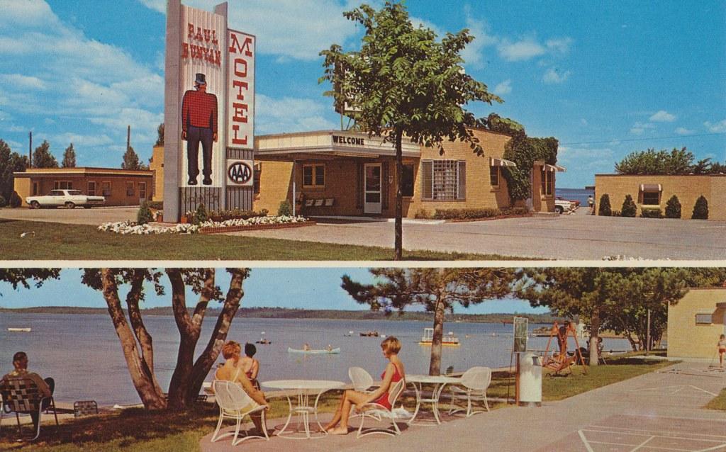 Paul Bunyan Motel - Bemidji, Minnesota