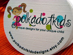 polkadotkids - hang tags | by starrdesign