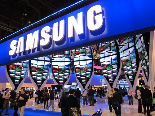 Samsung CES Booth 2010 | by nan palmero