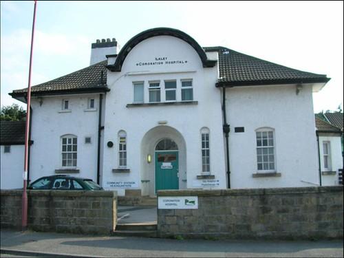 Coronation Hospital Ilkley The Entrance To The