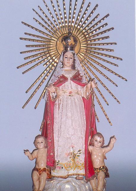real Virgen hermoso