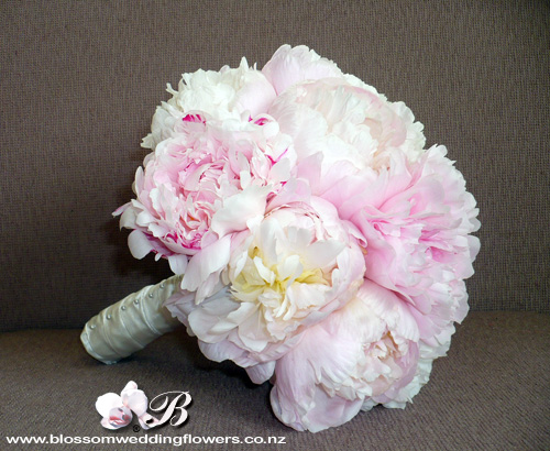 Pink Peony And Oriental Lily