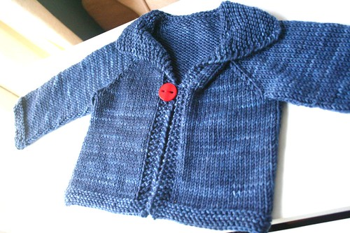 Easy Knitting Pattern For Babies Cardigan : Knitted easy baby cardigan this is the free