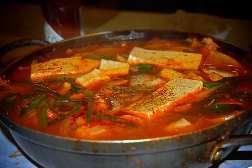 Korean spicy fish soup angelenosriteofpassage flickr for Spicy fish soup