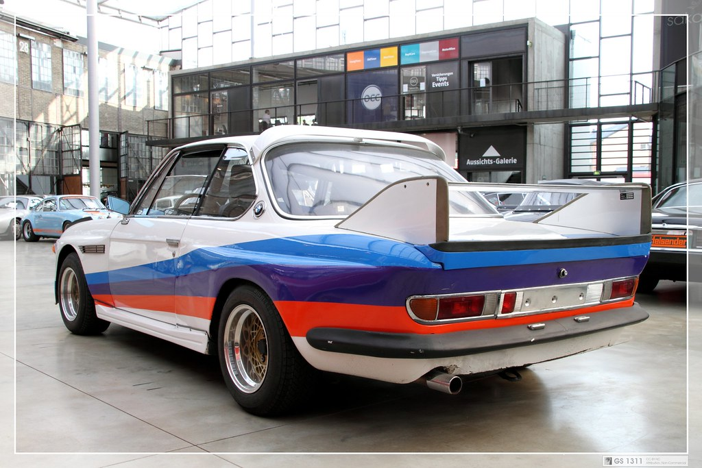 1971 Bmw E9 3 0 Csl 05 Introduced In May 1972 The 3