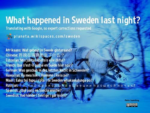 what happened in sweden last night translating what hap flickr. Black Bedroom Furniture Sets. Home Design Ideas
