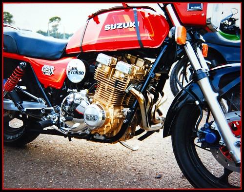 Suzuki Katana Drag Bike