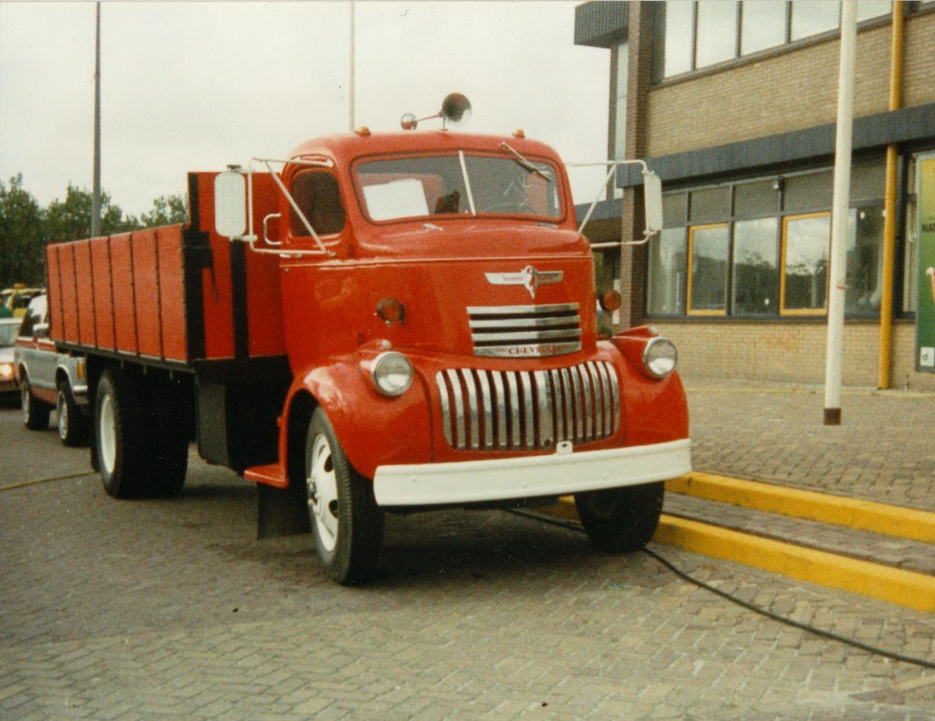 Chevrolet Coe Truck 1941 1946 Shot When I Was 8 Years Old Flickr Gmc By Skitmeister