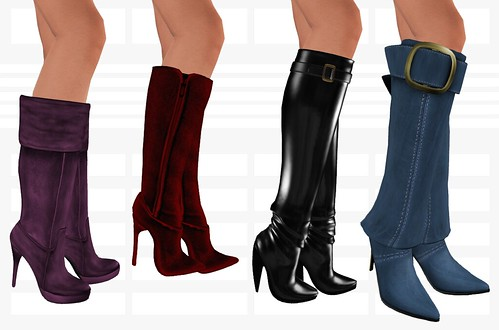 Knee Boots | by SarahTheRed Aurbierre