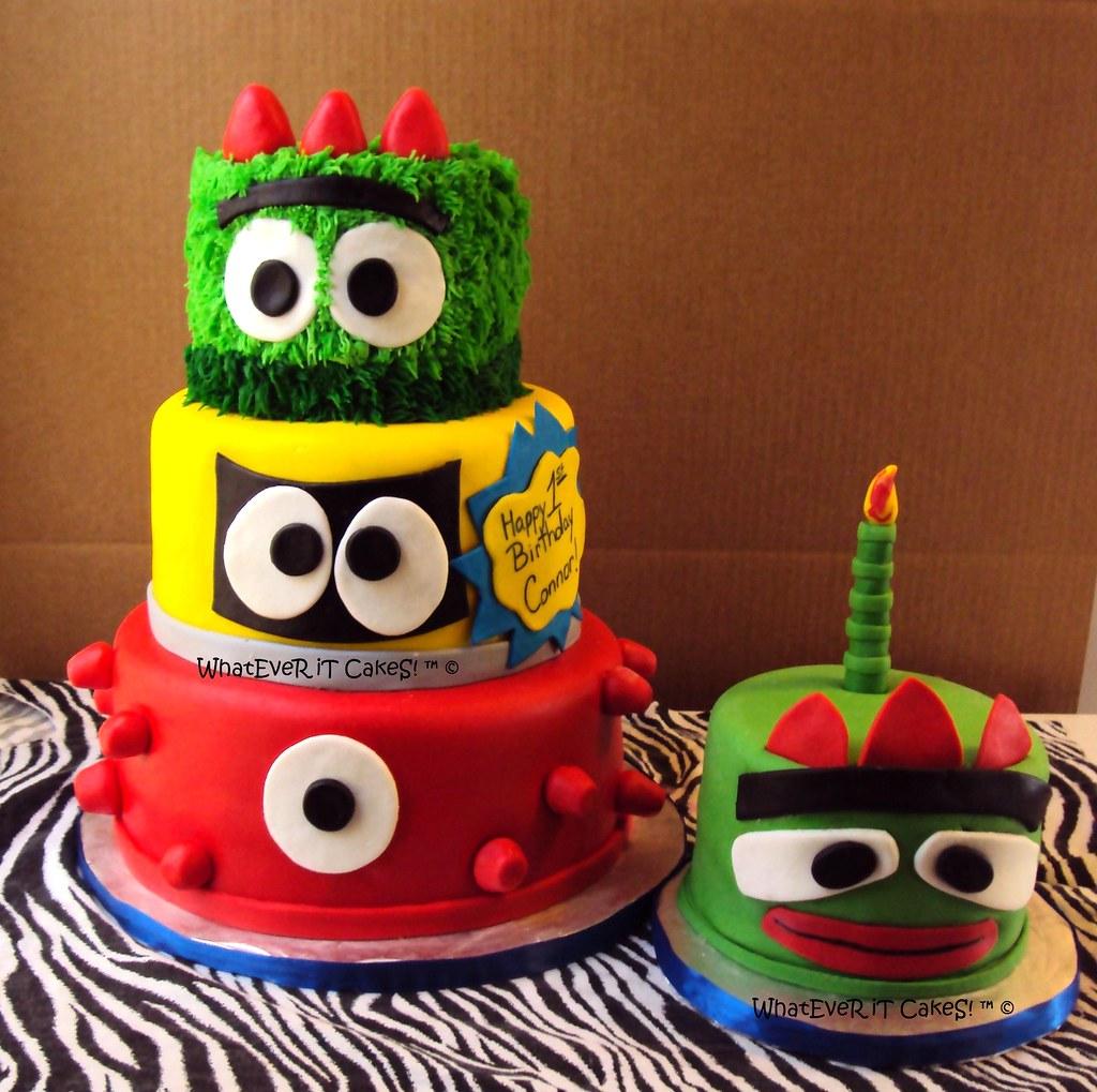 Yo Gabba Gabba Yo Gabba Gabba Themed Cake