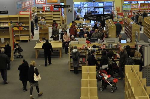Borders Books Store Closing Sale Dsc8618 Borders Book Store