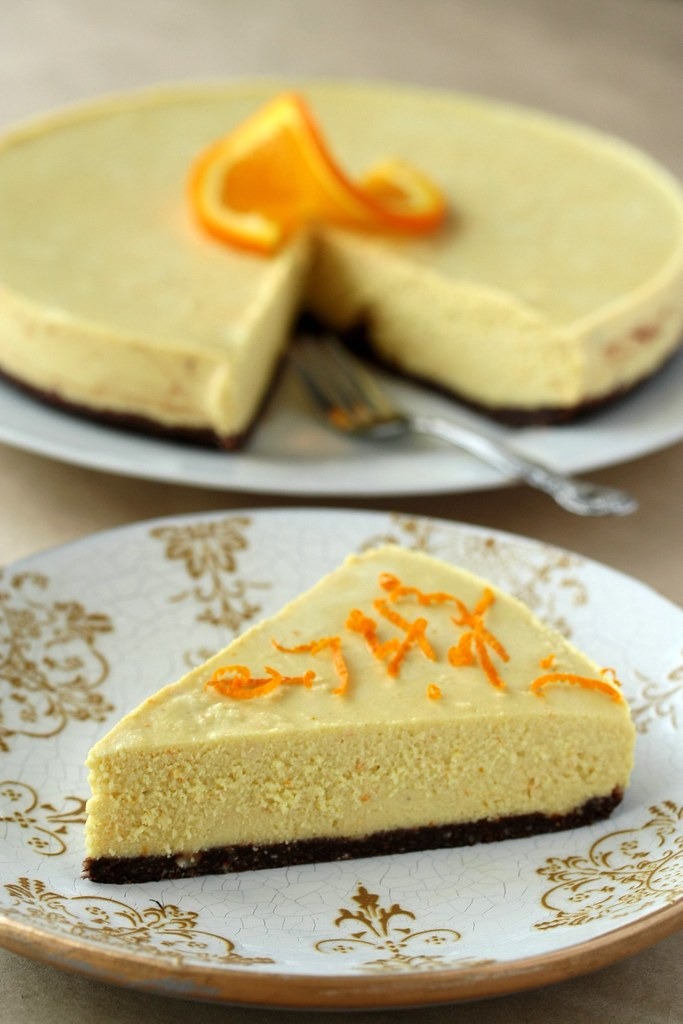 Raw Vegan Orange Cheesecake Take A Bite You Won T