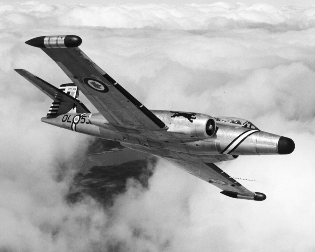 Fighters which did not make the cut – the Avro Canada CF-105