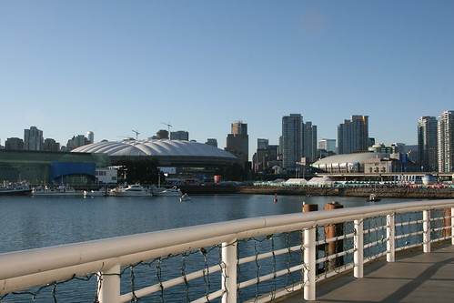 City on a beautiful sunny day during the Vancouver 2010 Olympic Games | by L. Z.