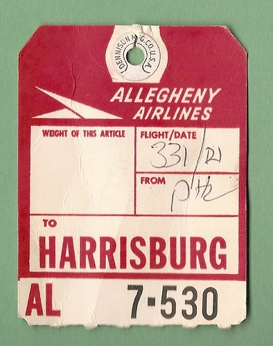Allegheny Airlines - HAR Harrisburg, PA - 1964 | by MR38