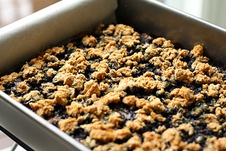 Blueberry-Oat Bars | by Tracey's Culinary Adventures